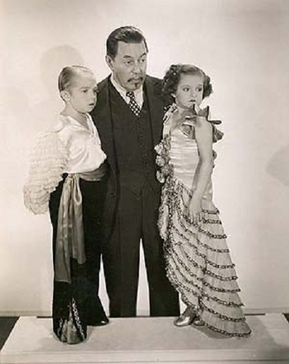 George Brasno, Olive Brasno, and Warner Oland in Charlie Chan at the Circus (1936)