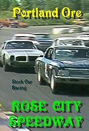 Portland Rose City Speedway Poster
