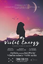 My Violet Energy Poster