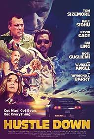 Bai Ling, Raymond J. Barry, Tom Sizemore, Vanessa Angel, Kevin Gage, Noel Gugliemi, and Paul Sidhu in Hustle Down (2021)