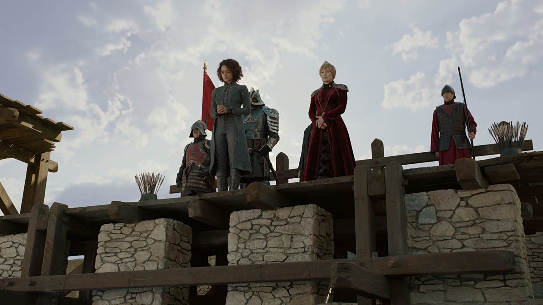 Lena Headey, Nathalie Emmanuel, and Hafþór Júlíus Björnsson in Game of Thrones (2011)