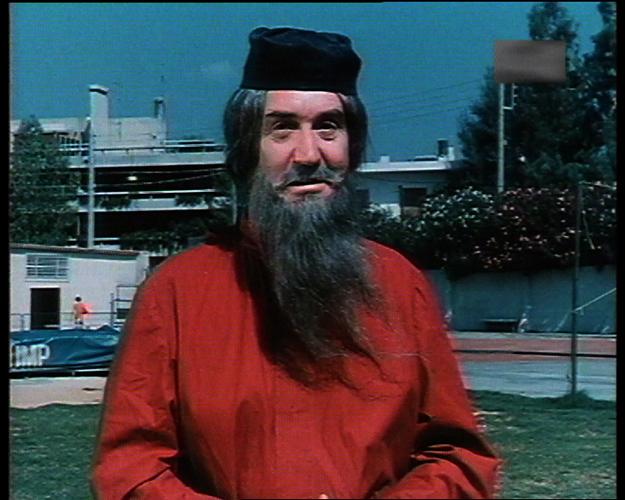 Giannis Vogiatzis in Ethniki papadon (1984)