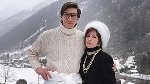 Adam Driver and Lady Gaga in 'House of Gucci'