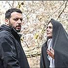 Hengameh Ghaziani and Pedram Sharifi in Hamgonah (2020)