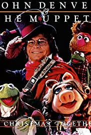 john denver and the muppets a christmas together poster