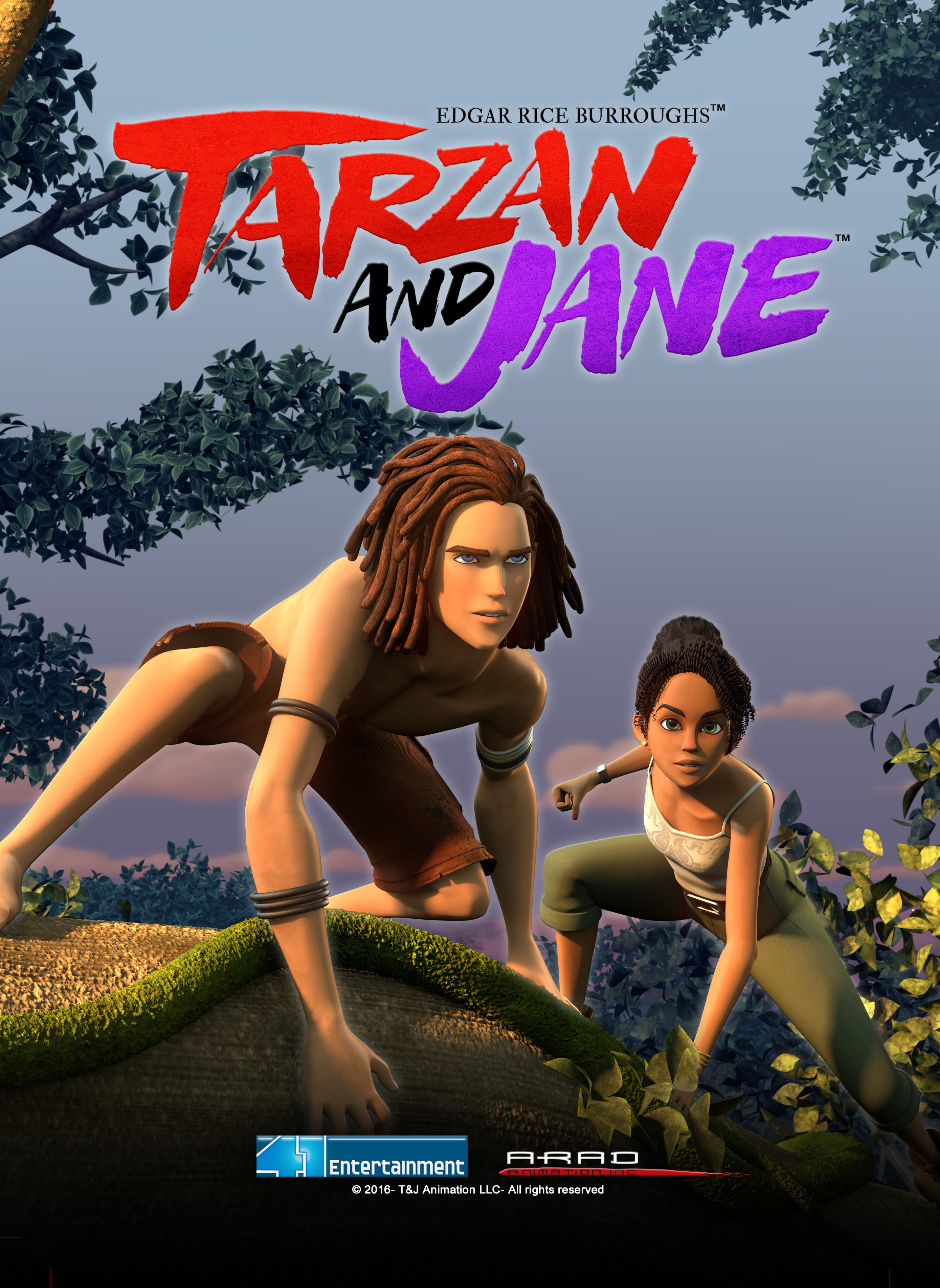 View Tarzan And Jane - Season 1 (2017) TV Series poster on Ganool