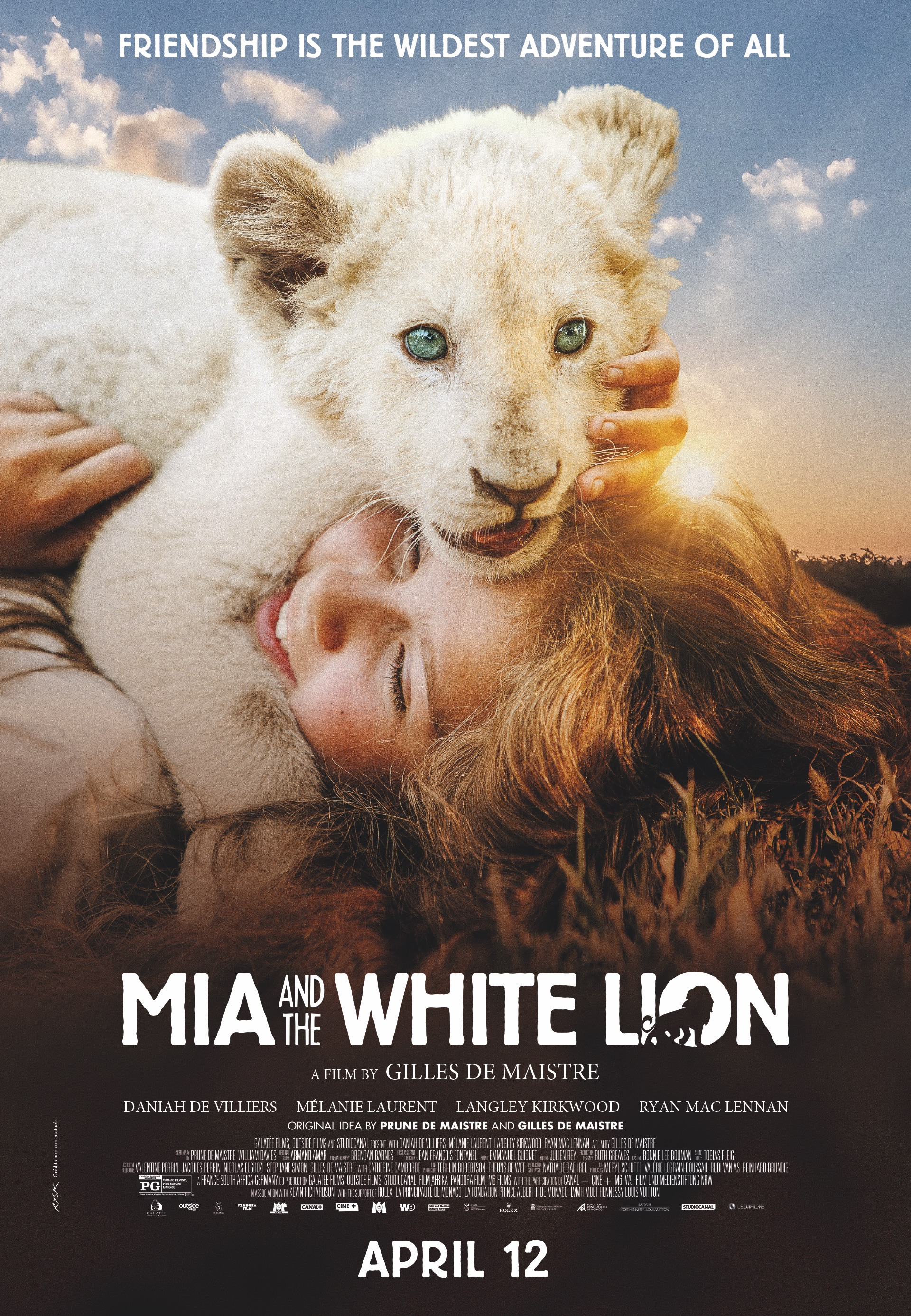 MIA IR BALTASIS LIŪTAS (2018) / MIA AND THE WHITE LION
