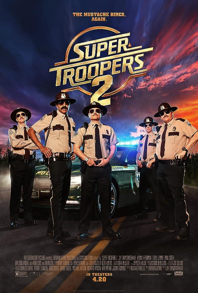 Super Troopers 2 (2018) Hollywood Movie