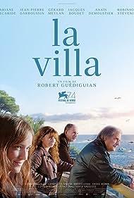 Ariane Ascaride, Jean-Pierre Darroussin, Gérard Meylan, and Anaïs Demoustier in La villa (2017)