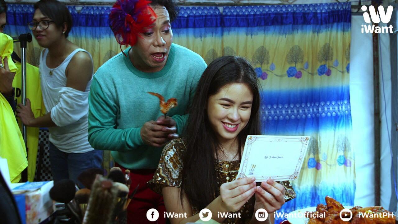 Lassy and Kisses Delavin in Alamat ng ano (2018)