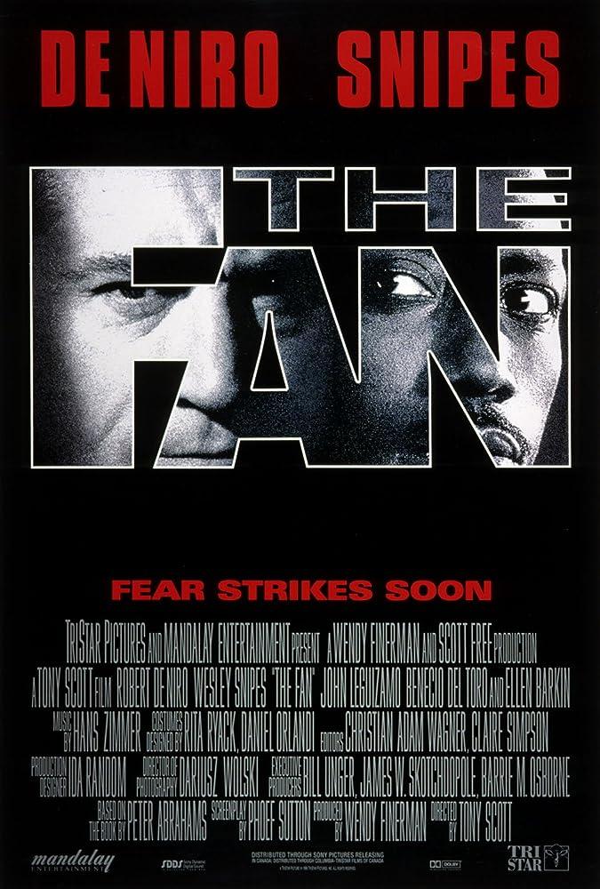 Poster film The Fan (1996)