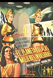 Planet of the Female Invaders Poster