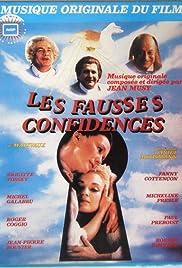 Les fausses confidences Poster