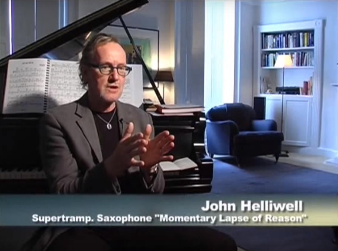John Helliwell in Whatever Happened to Pink Floyd? The Strange Case of Waters and Gilmour (2011)
