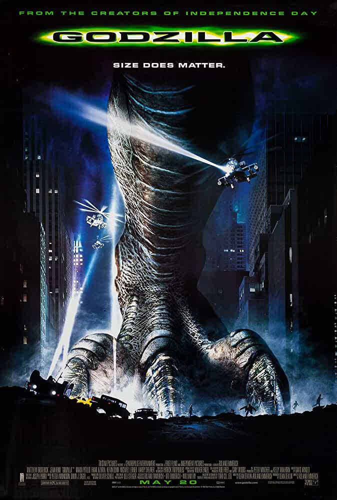 Godzilla 1998 Dual Audio Hindi-Eng  720p BluRay 1.1GB