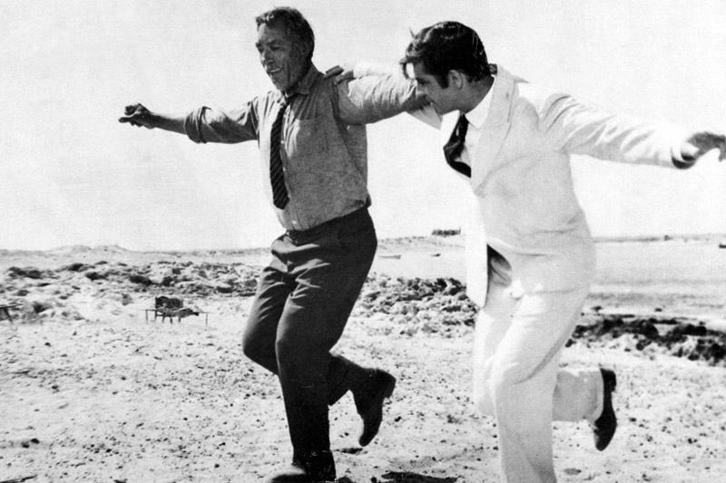 Anthony Quinn ve Alan Bates, Alexis Zorbas (1964)