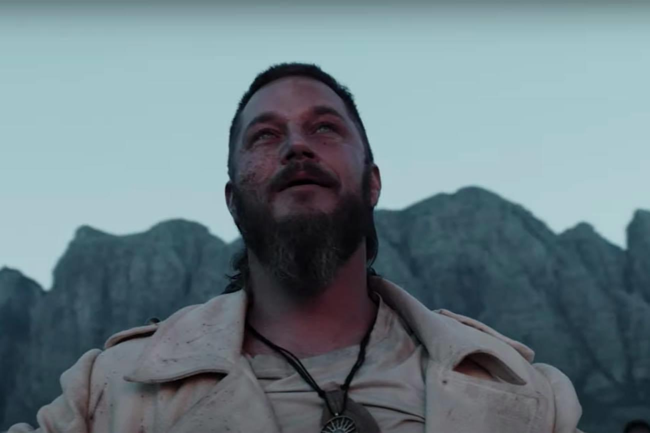 Travis Fimmel in Raised by Wolves (2020)