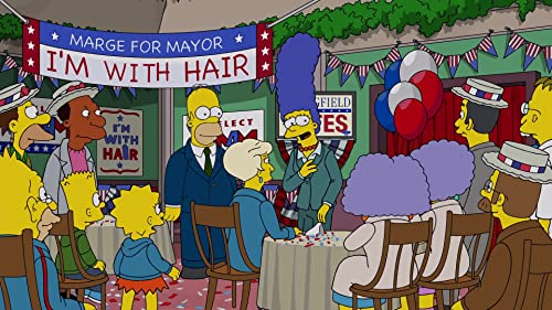 The Simpsons: Marge Is Elected Mayor Of Springfield