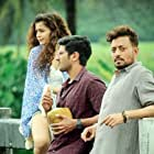 Irrfan Khan, Dulquer Salmaan, and Mithila Palkar in Karwaan (2018)