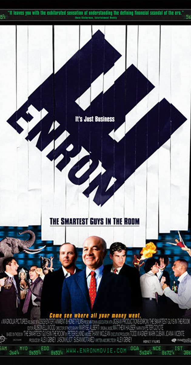 Enron: the smartest guys in the room (2005) rotten tomatoes.