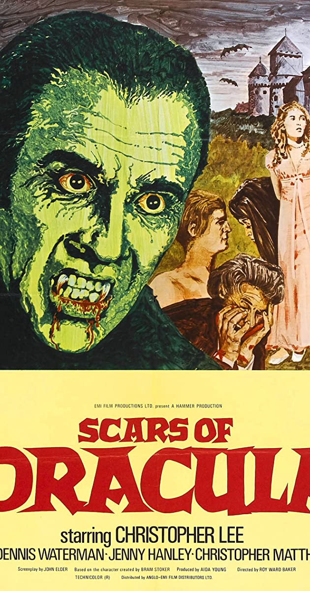 Subtitle of Scars of Dracula
