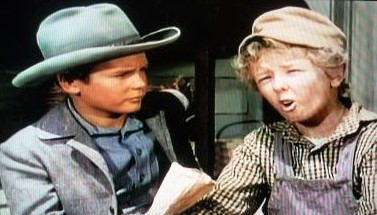 Jimmy Hunt and Wesley Morgan in The Lone Hand (1953)