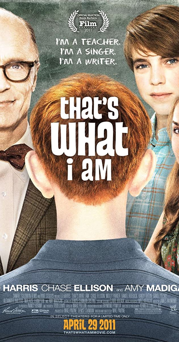 Subtitle of That's What I Am