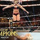 Lexi Kaufman and Amanda Saccomanno in WWE: Clash of Champions (2019)