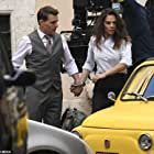 Tom Cruise and Hayley Atwell in Mission: Impossible 7 (2022)
