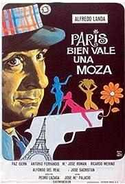 París bien vale una moza Poster