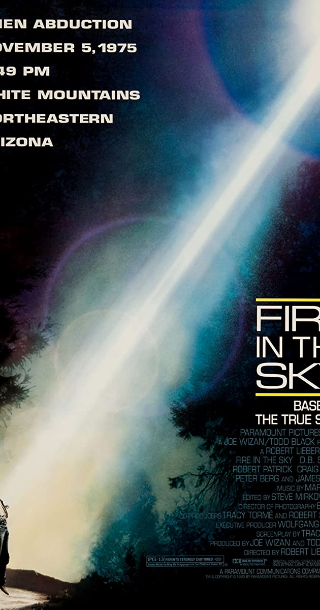Fire In The Sky 1993 Imdb