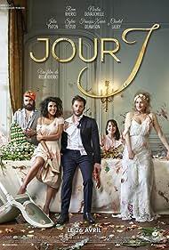 Nicolas Duvauchelle, Chantal Lauby, François-Xavier Demaison, Julia Piaton, and Reem Kherici in Jour J (2017)