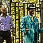 Orlando Jones and Ricky Whittle in American Gods (2017)