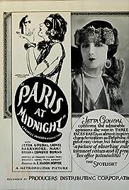 Paris at Midnight Poster