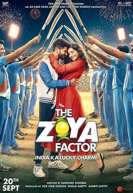 The Zoya Factor (2019) Hindi WEB-DL - 480P   720P   1080P - x264 - 400MB   1GB   3GB   5.4GB - Download & Watch Online  Movie Poster - mlsbd