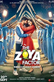 Sonam Kapoor and Dulquer Salmaan in The Zoya Factor (2019)