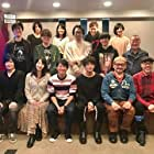 Kôji Yusa, Kenjirô Tsuda, and Hiro Shimono at an event for ACCA: 13-ku Kansatsu-ka (2017)