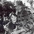 John Wayne and Irene Tsu in The Green Berets (1968)