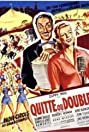 Quitte ou double (1952) Poster