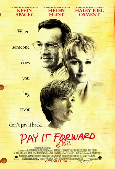 SĖKMĖ AVANSU (2000) / PAY IT FORWARD