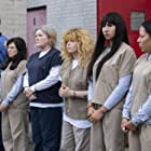 Kate Mulgrew, Selenis Leyva, Yael Stone, Jackie Cruz, and Nick Dillenburg in Orange Is the New Black (2013)
