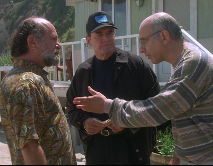 James Garner, Stuart Margolin, and George Wyner in The Rockford Files: If It Bleeds... It Leads (1999)