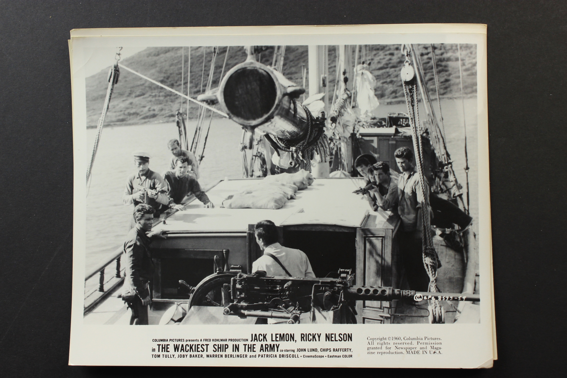 1960 movie wackiest ship in the army