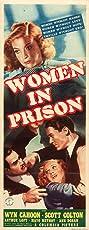Women in Prison (1938) Poster