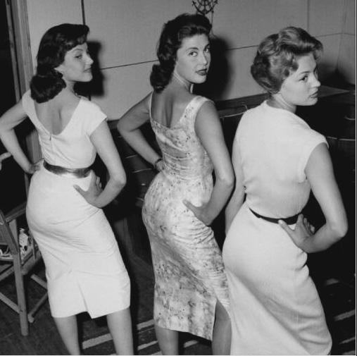 Lise Bourdin, Pascale Roberts, and Véronique Zuber in Ces dames préfèrent le mambo (1957)