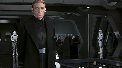 Domhnall Gleeson Takes Credit for Memorable 'Last Jedi' Scene