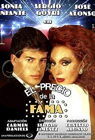 Sergio Goyri and Sonia Infante in El precio de la fama (1987)