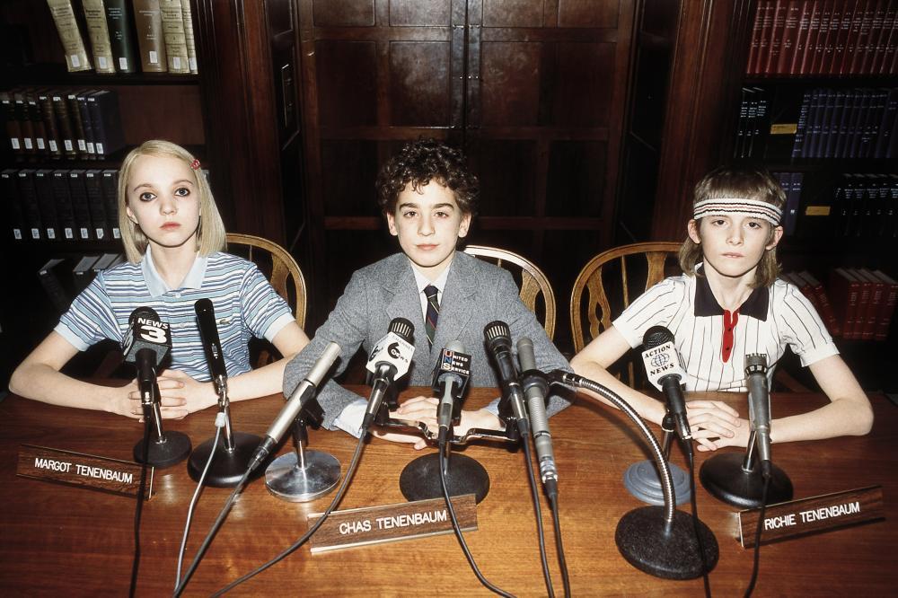 Amedeo Turturro, Aram Aslanian-Persico, and Irina Gorovaia in The Royal Tenenbaums (2001)