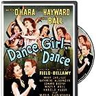 Maureen O'Hara, Lucille Ball, and Louis Hayward in Dance, Girl, Dance (1940)