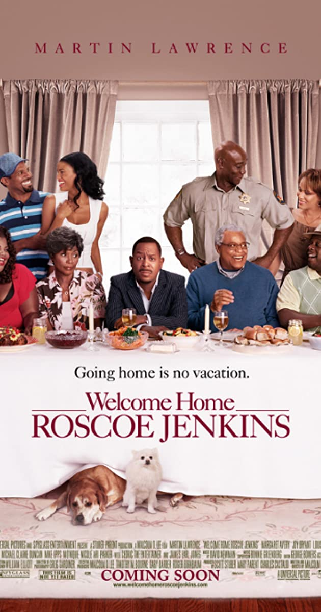 Subtitle of Welcome Home, Roscoe Jenkins